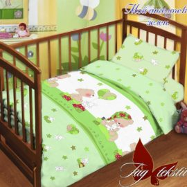 Детский комплект Мой ангелочек зелен.