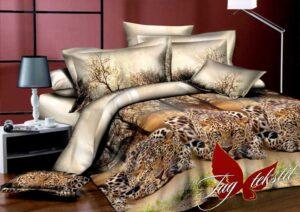 постельное бельё леопарды