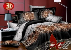 постельное белье с гепардами