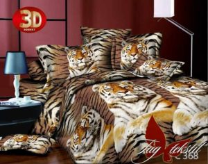 постельное белье с тигрятами
