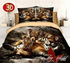 постельное бельё с тигрятами