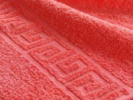 Полотенце 50*90 Coral red