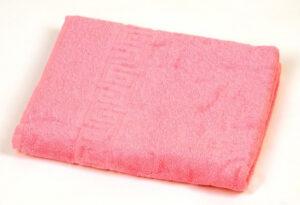 Полотенце махровое Pink dark