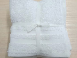 Набор полотенец 30*30 (6шт) Белые