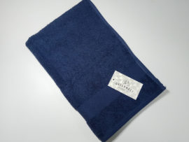 Полотенце махровое QuenWest синее