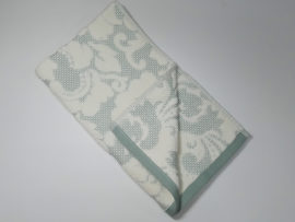 Полотенце махровое Nanette зеленое