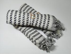 Полотенце махровое Зебра