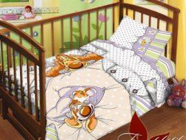 ДЛЯ ДЕТЕЙ/Комплекты в кроватку с простынью на резинке