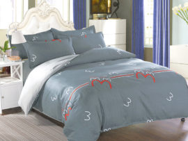 Комплект постельного белья с компаньоном S417