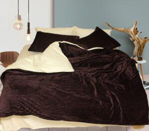 Комплект постельного белья зима-лето Brown