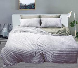 Комплект постельного белья зима-лето Grey