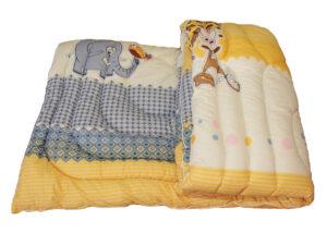 Одеяло лебяжий пух Жираф 1.5-сп.