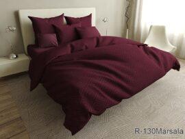 Комплект постельного белья R130Marsala
