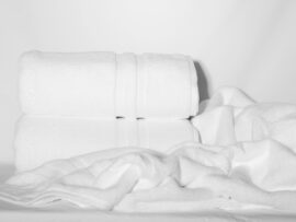 Полотенце 70х140 Elegant цвет: белый