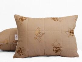 Подушка лебяжий пух Camel 50х70 (стеганная)