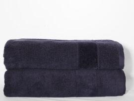 Полотенце 70х140 Velur цвет: чернильный