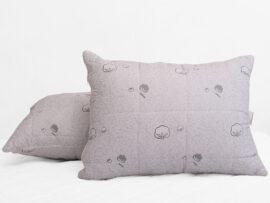 Подушка лебяжий пух Cotton 50х70 (стеганная)