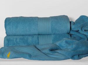 Полотенце 70х140 Polo цвет: голубой