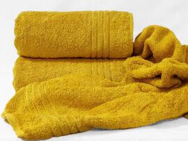 Полотенце 70х140 Calm tones цвет: горчичный