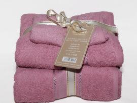 Набор полотенец Sofia цвет: лиловый