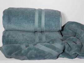 Полотенце 70х140 Elegant цвет: морская волна
