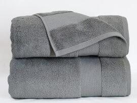 Полотенце 70х140 Home style цвет: пепельный