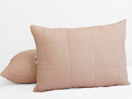 Подушка лебяжий пух Pudra 50х70 (стеганная)