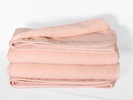 Полотенце 70х140 Swanky цвет: розовый