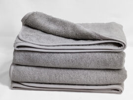 Полотенце 70х140 Swanky цвет: серый
