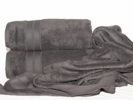 Полотенце 70х140 Havlu цвет: серый