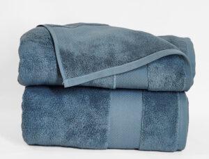 Полотенце 70х140 Home style цвет: серо-голубой
