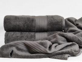 Полотенце 70х140 Polo цвет: серый