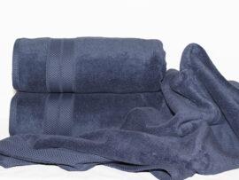 Полотенце 70х140 Havlu цвет: синий