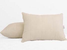 Подушка лебяжий пух Stripe 70х70 (стеганная)