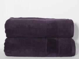 Полотенце 70х140 Velur цвет:темно-фиолетовый