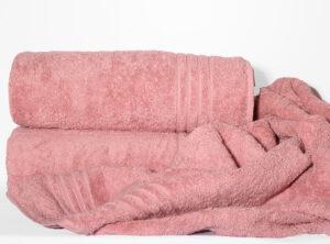 Полотенце 100х150 Calm tones цвет: темно-розовый