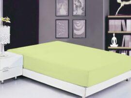 Простынь на резинке (180х200х20) Luminary Green