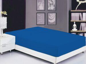 Простынь на резинке (180х200х20) Princess Blue