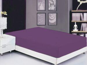 Простынь на резинке (180х200х20) Sunset Purple