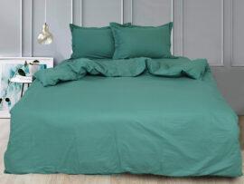 Простынь на резинке (160х200х30) Green