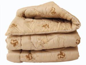 Одеяло лебяжий пух Camel 2-сп.