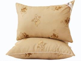 Подушка лебяжий пух Camel 70х70