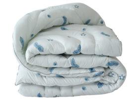 Одеяло лебяжий пух Перо 1.5-сп.