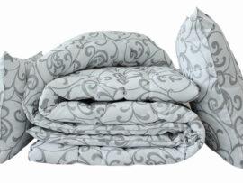 """Одеяло лебяжий пух """"Venzel"""" 1.5-сп. + 2 подушки 50х70"""