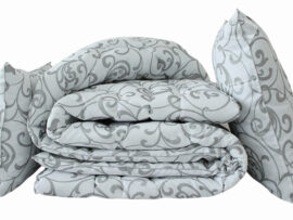 """Одеяло """"Eco-venzel"""" 1.5-сп. + 2 подушки 50х70"""