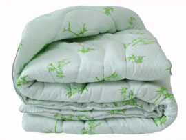 Одеяло лебяжий пух Bamboo white евро