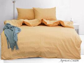 Комплект постельного белья евро Apricot Cream