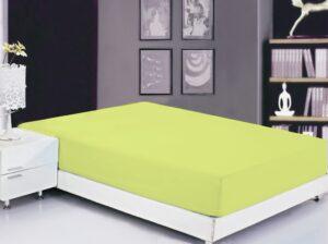 Простынь на резинке (160х200х20) Sunny Lime
