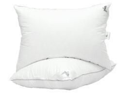 Подушка лебяжий пух White 50х70